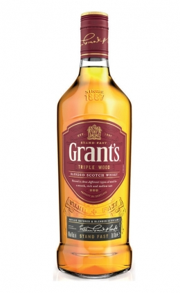Виски GRANT'S  Triple Wood - 1000 ml